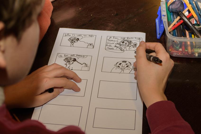 Een storyboard maken