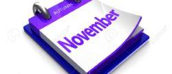 November in de academie